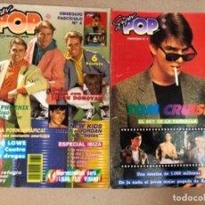 Revistas de música: SUPERPOP N°320 JULIO 1990 CON EL OBSEQUIO FASCÍCULO DE TOM CRUISE - MADONNA, MECANO, MICHAEL JACKSO,. Lote 116680679