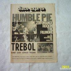 Revistas de música: DISCO EXPRES. 1975. 1972. SIN POSTER. Lote 117361575