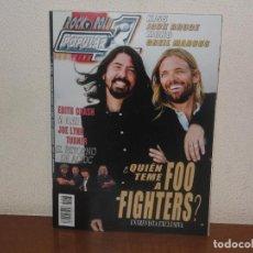 Revistas de música: REVISTA POPULAR 1 Nº 493,FOO FIGHTERS,KISS,JACK BRUCE. Lote 117400895