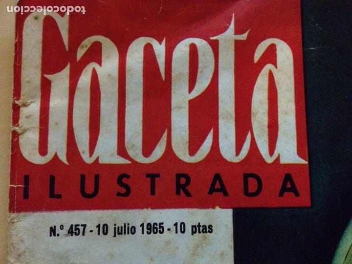 BEATLES - REVISTA GACETA ILUSTRADA NUM. 457 (Música - Revistas, Manuales y Cursos)