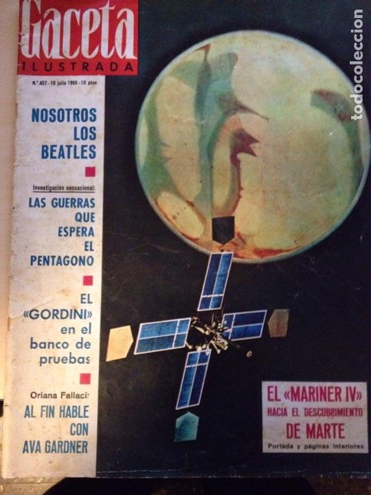 Revistas de música: Beatles - Revista Gaceta Ilustrada num. 457 - Foto 2 - 117483494