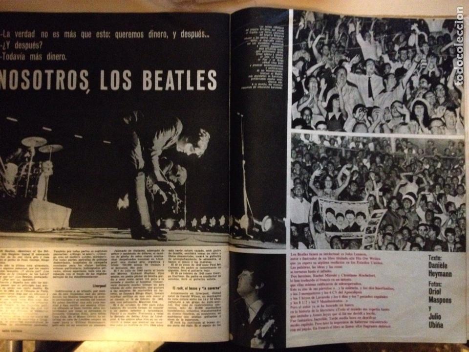 Revistas de música: Beatles - Revista Gaceta Ilustrada num. 457 - Foto 4 - 117483494