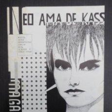Revistas de música: NEO AMA DE KASS FANZINE ORIGINAL.Nº 3 (BILBAO,1983) CICATRIZ, LA MODE, LOS MONAGUILLOSH, COMO HUELE,. Lote 118145159