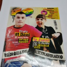 Revistas de música: REVISTA 40 PRINCIPALES - DANI MARTIN - LA JUANI - TDKR40. Lote 118307286