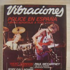 Revistas de música: VIBRACIONES - SEPTIEMBRE 1980 / Nº 72. Lote 118578447
