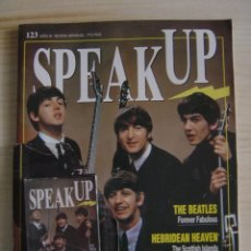 Revistas de música: THE BEATLES - SPEAK UP Nº 123 - AÑO XI - CONSERVA CASSETTE ORIGINAL PRECINTADO. Lote 118616615