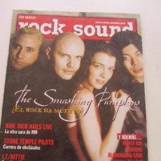 Revistas de música: ROCK SOUND Nº 25 SMASHING PUMPKINS NINE INCH NAILS STONE TEMPLE PILOTS L7 BEN HARPER CSA113. Lote 118681575