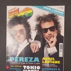 Revistas de música: REVISTA 40 PRINCIPALES - PEREZA - TDKR18. Lote 119148383