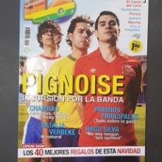 Revistas de música: REVISTA 40 PRINCIPALES - PIGNOISE - TDKR18. Lote 119148555