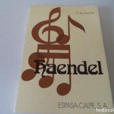 Revistas de música: HAENDEL.ÉMILE DAMAIS. Lote 119553435