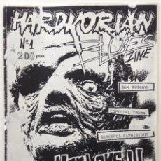 Revistas de música: HARDCORIAN BLUES FANZINE 1 LA CORUÑA 1992 CEREBROS EXPRIMIDOS HARD-ONS SEX MUSEUM TOMA PUNK HARDCORE. Lote 119639015