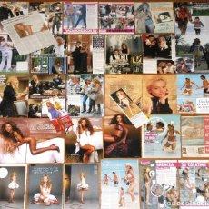 Revistas de música: PAULINA RUBIO LOTE PRENSA CLIPPINGS 1990S/10S SEXY PHOTOS MAGAZINE ARTICLES. Lote 120008251