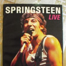 Revistas de música: BRUCE SPRINGSTEEN LIVE!!-RARO LIBRO -MADE IN CANADA-IMPRESIONANTES FOTOS COLOR!!. Lote 120451471