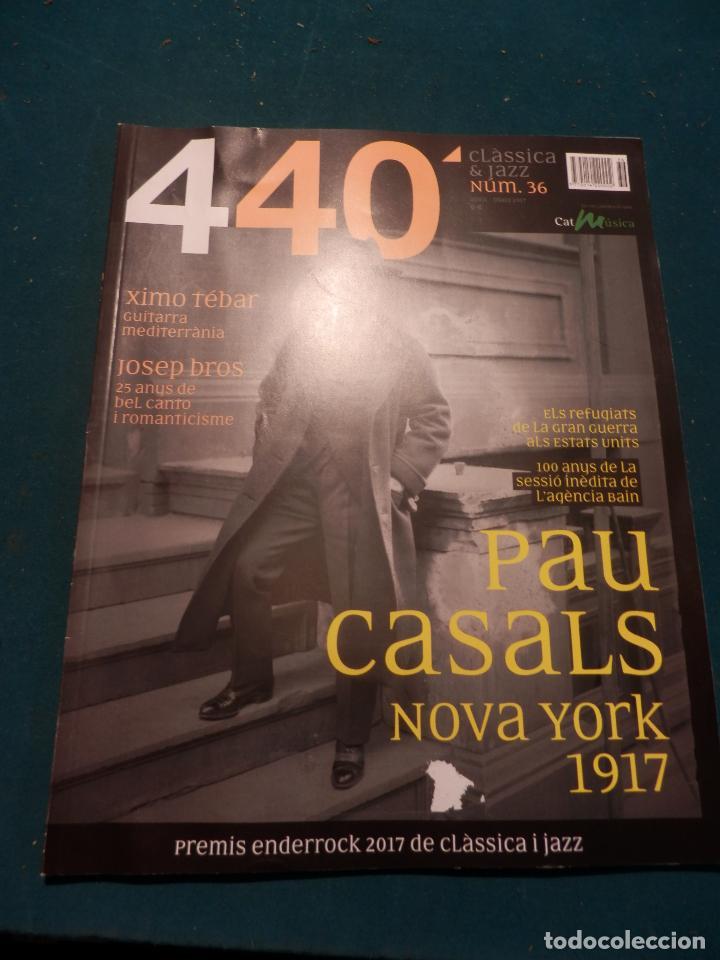 Revistas de música: 440 CLÀSSICA & JAZZ - LOTE 34 REVISTAS EN CATALÀ Nº 2-3-4-5-6-7-8-9-10-11-12-13-14-15-16-17-18-19... - Foto 29 - 65452894