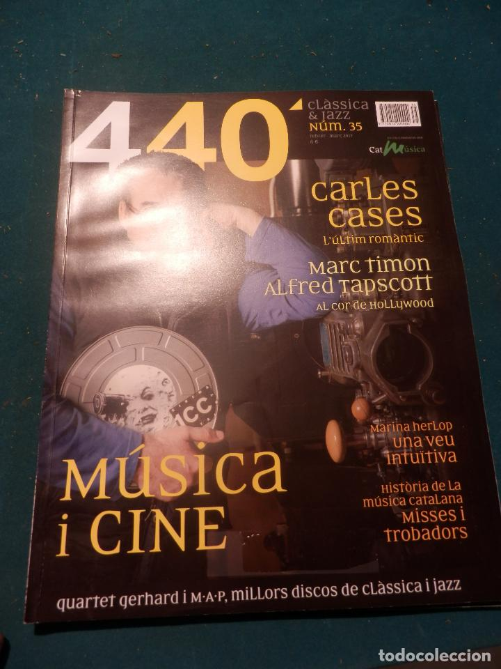 Revistas de música: 440 CLÀSSICA & JAZZ - LOTE 34 REVISTAS EN CATALÀ Nº 2-3-4-5-6-7-8-9-10-11-12-13-14-15-16-17-18-19... - Foto 30 - 65452894