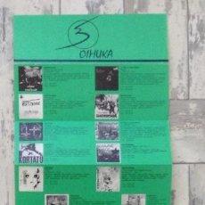 Revistas de música: OIHUKA BOLETÍN ORIGINAL DE LA ÉPOCA. Lote 120857319