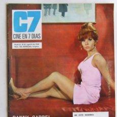 Revistas de música: CINE EN 7 DIAS 383 BEATLES DANNY CARRELL RAPHAEL BRUNO LOMAS MARISOL NANCY SINATRA CLIFF RICHARD. Lote 121019479