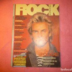 Revistas de música: MAGAZINE ROCK ESPEZIAL Nº 1 1981 THE POLICE ECHO & THE BUNNYMEN DAVID BOWIE R. Lote 121233655