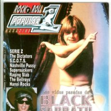Revistas de música: POPULAR 1 348 BLACK SABBATH DAN BAIRD ROSE TATTOO OZZY DIO GILLAN TONY MARTIN. Lote 217742556