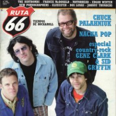 Revistas de música: RUTA 66 184 JUNE 2002 GIGOLO AUNTS NACHA POP COUNTRY ROCK. Lote 176877625