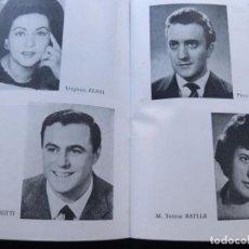 Revistas de música: GRAN TEATRO DEL LICEO - BARCELONA / OPERA 1963 - 1964 / LA TRAVIATA - LUCIANO PAVAROTTI. Lote 122015259