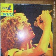 Revistas de música: POPULAR 1 ESPECIAL 4- THE WHO - CONTIENE SUPER POSTER - POPULAR1. Lote 122015571