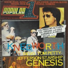Revistas de música: POPULAR-1 Nº 62 (AGOSTO 1978) . Lote 122060227