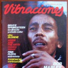 Revistas de música: REVISTA VIBRACIONES, Nº 80, MAYO 1981 - BOB MARLEY, SPRINGSTEEN, BLONDIE, PINK FLOYD. Lote 122140271