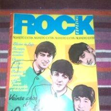 Revistas de música: REVISTA ROCK ESPEZIAL Nº 4 NÚMERO EXTRA BEATLES 64 PAGINAS INCLUYE POSTER CENTRAL FOTOS INÉDITAS.... Lote 122164587