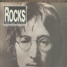 Revistas de música: JOHN LENNON ROCKS MUSICZINE Nº 20 DICIEMBRE 1998. Lote 122229595