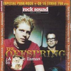 Revistas de música: ROCK SOUND ESPECIAL PUNK-ROCK. Lote 122305003