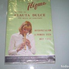 Revistas de música: HIGMA MÉTODO DE FLAUTA DULCE POR MEDIO DE CANCIONES 1976. Lote 122621787