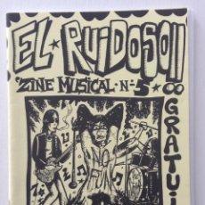 Revistas de música: EL RUIDOSO 5 ENTREVISTAS P.P.M. AINA JODER AROUND FLAUTERS. Lote 123073571