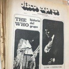 Revistas de música - RA4 REVISTA MUSICA MAGAZINE MUSIC DISCO EXPRES 1970 Nº 98.TOM JONES, BILLIE DAVIS THE WHO Y RAPHAEL - 123246307