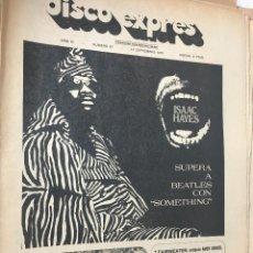 Revistas de música: RA4 REVISTA MAGAZINE DISCO EXPRES 1970 Nº 87 ISSAC HAYES SUPERA BEATLES. Lote 123262299