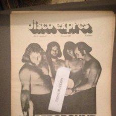 Revistas de música: DISCO EXPRES 5 (12-1-69):UNDERGROUNG,BEE GEES,BEATLES,STONES,CREAM,FLEETWOOD MAC,P.SIMON,J.LEKUONA. Lote 123325267