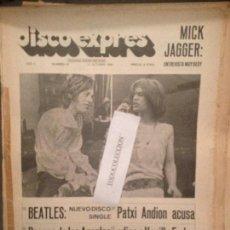 Revistas de música: DISCO EXPRES 42 (12-10-69):BEATLES,PATXI ANDION,MIKE KENNEDY,M.JAGGER,BILLY PRESTON,MODULOS,LESLIE . Lote 123334135