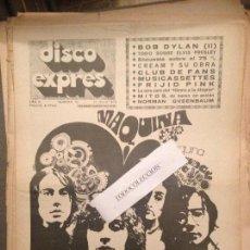 Revistas de música: DISCO EXPRES 79 (12-7-70):MAQUINA!, CREAM,DYLAN,PRESLEY,MITOS.SIMUN,BITTOR EGURROLA,FRIJID PINK. Lote 123336719