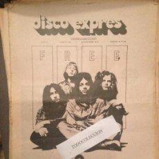 Revistas de música: DISCO EXPRES 99 (6-12-70): ZAPPA,THE BYRDS,DOORS,LED ZEPPELIN,FREE,GENESIS (JOSE Y MANUEL),CENTIPEDE. Lote 123338087
