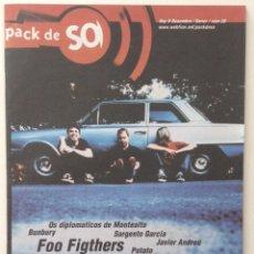 Revistas de música: PACK DE SO ENTREVISTA FOO FIGTHERS VIOLADORES DEL VERSO LOS RANCIOS ENRIQUE BUNBURY. Lote 123391063