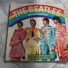 Revistas de música: THE BEATLES ,UNA GIA ILUSTRADA, ROY CARR & TONY TYLER,EDITORIAL LUMEN . Lote 123577523
