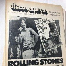 Revistas de música: RA4 REVISTA DISCO EXPRES 1971 Nº 125 ROLLING STONES;BLOOD SWEET & TEARS,JACKSON FIVE,PERE TAPIAS,ERI. Lote 123725239