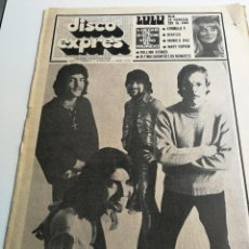 Revistas de música: REVISTA ' DISCO EXPRES ' Nº 24 - MAYO 1969 //PORTADA ' VANILLA FUDGE '. Lote 124289623