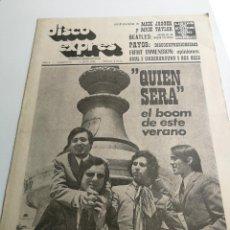 Revistas de música - REVISTA ' DISCO EXPRES ' Nº 30 - JULIO 1969 //PORTADA ' LOS ALBAS ' - 124290391