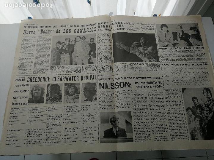 Revistas de música: REVISTA ' DISCO EXPRES ' Nº 47 - NOVIEMBRE 1969 //PORTADA ' PACO DE FORMULA V ' - Foto 2 - 124293055