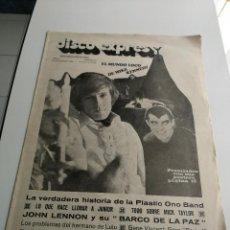 Revistas de música - REVISTA ' DISCO EXPRES ' Nº 49 - NOVIEMBRE 1969 //PORTADA ' EL MUNDO LOCO DE MIKE KENNEDY ' - 124293303