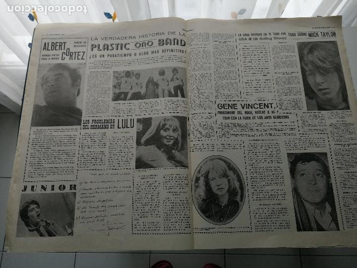 Revistas de música: REVISTA ' DISCO EXPRES ' Nº 49 - NOVIEMBRE 1969 //PORTADA ' EL MUNDO LOCO DE MIKE KENNEDY ' - Foto 2 - 124293303
