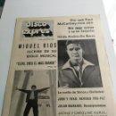 Revistas de música: REVISTA ' DISCO EXPRES ' Nº 53 - ENERO 1970 //PORTADA ' MIGUEL RIOS Y ELVIS PRESLEY '. Lote 124294403