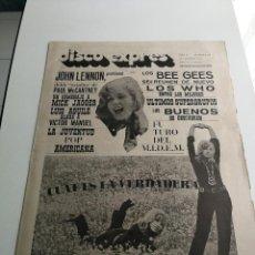 Revistas de música - REVISTA ' DISCO EXPRES ' Nº 58 - FEBRERO 1970 //PORTADA ' KARINA ' - 124295771