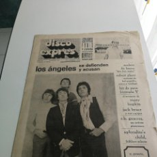 Revistas de música - REVISTA ' DISCO EXPRES ' Nº 59 - FEBRERO 1970 //PORTADA ' LOS ANGELES ' - 124296171